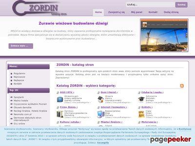 Zordin - katalog stron www