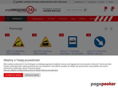 Znakidrogowe24.pl - Internetowy sklep drogowy