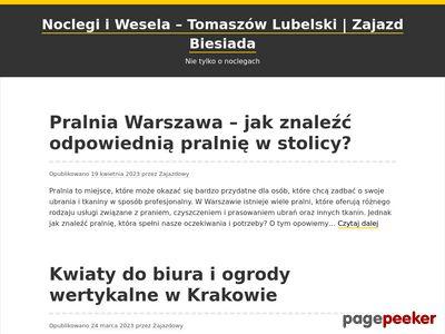 Sala na wesele tomaszów lubelski - zajazd-biesiada.pl