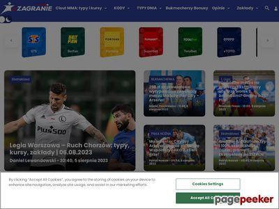 Zagranie.com - Katalogowanie