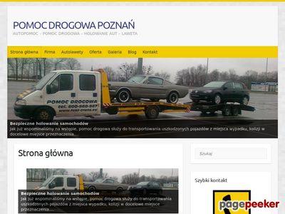 Holowanie Poznań