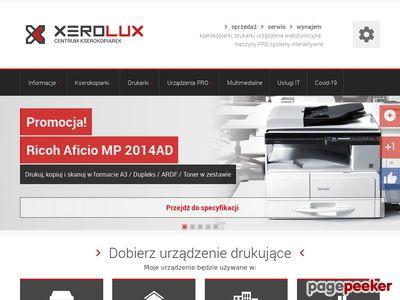 Kserokopiarki używane - xerolux.pl