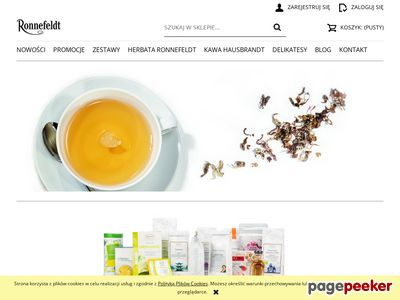 Ronnefeldt-sklep.pl - herbata z imbirem