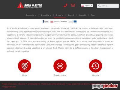 Praca na wysokości - rockmaster.com.pl