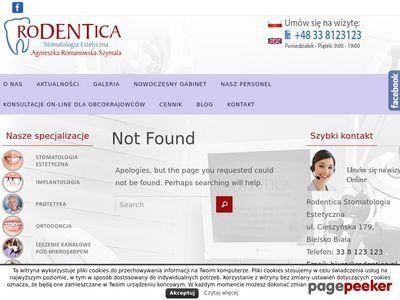 Rodentica - usługi stomatologiczne Bielsko-Biała
