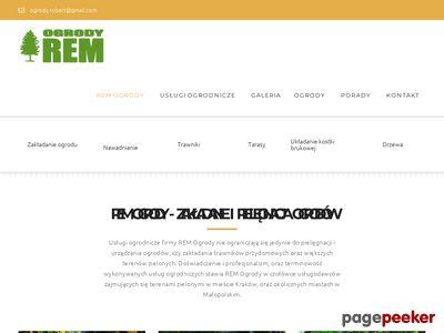 REM Kraków – firma ogrodnicza