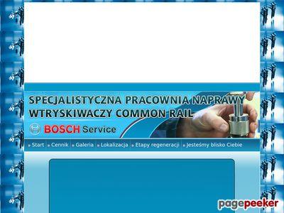Regeneracja naprawa wtryskiwaczy common rail Białystok