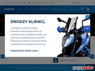 LOSTER szyby motocyklowe - owiewki do motocykli