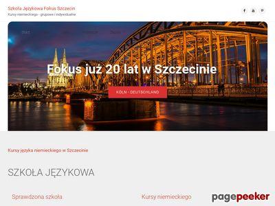 Fokus - nauka języka angielskiego i niemieckiego