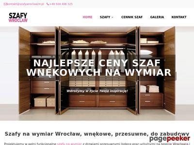 Szafy przesuwne Wrocław - szafywroclaw24.pl