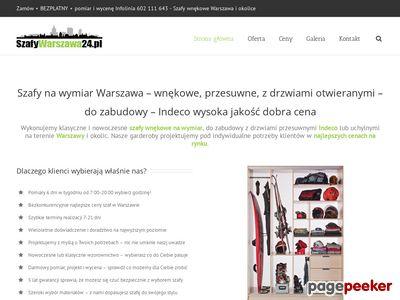 Szafy na wymiar Warszawa - szafywarszawa24.pl