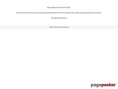 Torba ratownicza - sprzet-ratownictwa-medycznego.com.pl