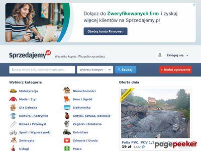 Sprzedam na Sprzedajemy.pl