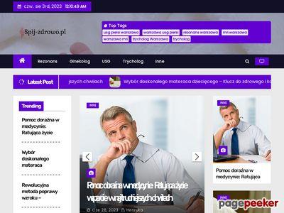 Poduszki ortopedyczne- spij-zdrowo- Warszawa