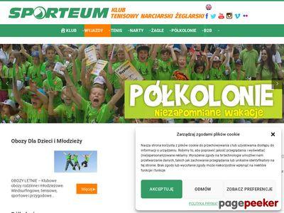 Przedszkole narciarskie, tenis Warszawa