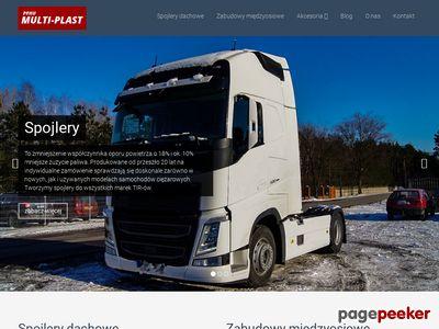MULTI-PLAST spojlery do samochodów ciężarowych