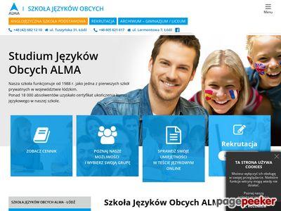 Szkoła języków ALMA w Łodzi