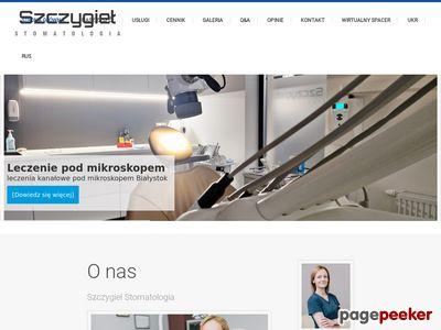 Leczenie Zęba Białystok - stomatologia-szczygiel.pl