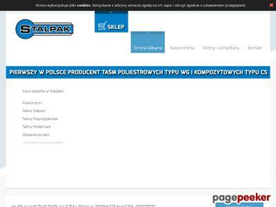 Stalpak.com.pl taśmy stalowe