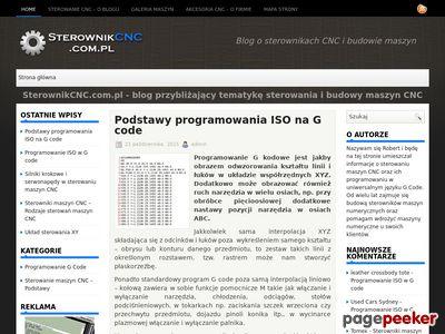 Branżowy blog o akcesoriach CNC - SterownikCNC.com.pl