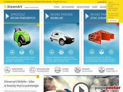SteamArt - mobilna myjnia