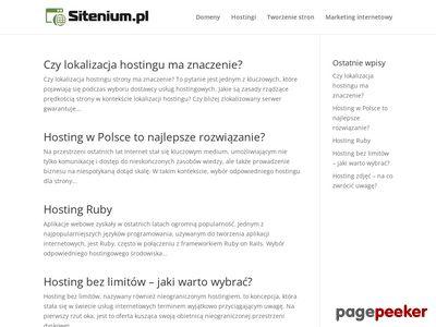 Strona Sitenium