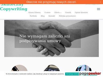 Copywriting - skutecznycopywriting.pl