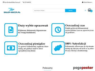 Sklep HACCP