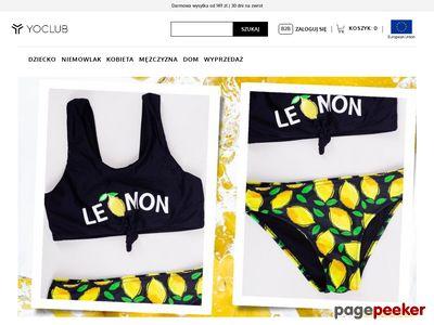 Ubranka dla niemowląti - sklep.yoclub.pl