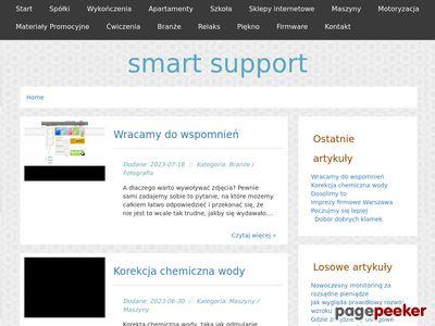 SMART SUPPORT usuwanie wirusów Łódź