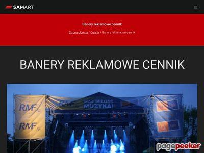 Producent banerów reklamowych Kraków Wieliczka