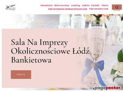 Sala na wesele - salawlodzi.pl