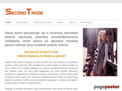 Odzież używana hurt - second-trade.pl
