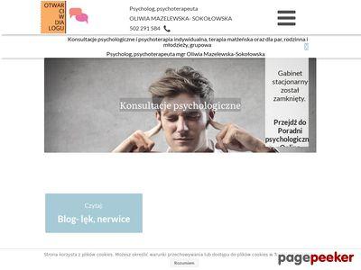 Psychoterapeuta, terapia małżeńska- Częstochowa