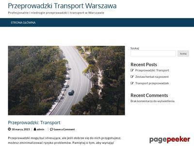 Taksówka Bagażowa Warszawa