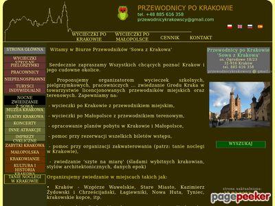 Przewodnicy po Krakowie 'Sowa'