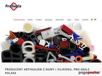 Proseals.pl - uszczelki silikonowe