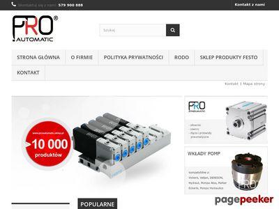 Proautomatic.sklep.pl - automatyka przemysłowa