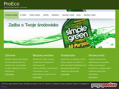 ProEco - dystrybutor Simple Green