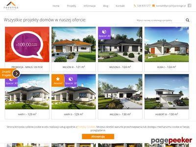 Projekty Prestige - firma projektująca domy