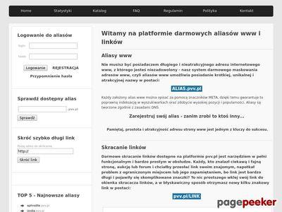 Portal darmowych aliasów www i krótkich linków
