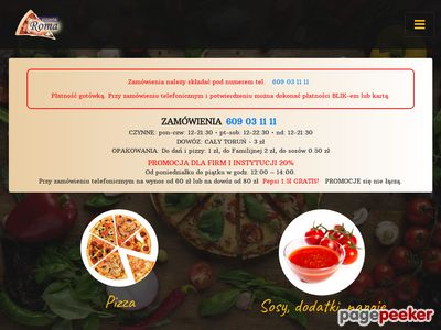 Pizza Toruń Roma