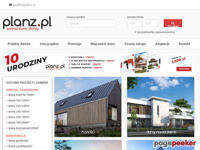 Projekty domów - Planz.pl