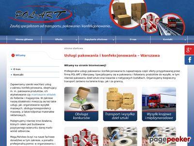 Szybkie pakowanie Warszawa