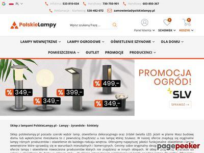 Sklep lampy wiszące polskielampy.pl