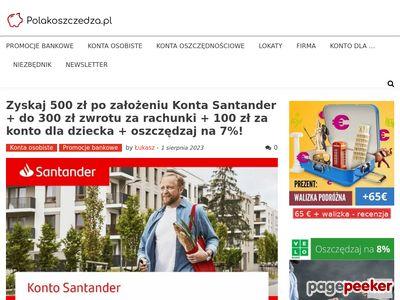 PolakOszczedza.pl | Konta bez opłat