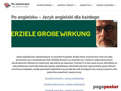 Angielski - poangielsku.com