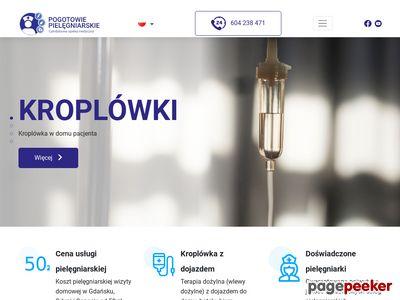 Usługi pielęgniarskie w domu w Gdańsku, Gdyni i Sopocie