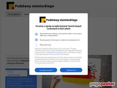 Szybka nauka niemieckiego online