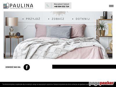 Hurtownia tekstyliów domowych - paulina-sklep.pl